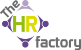 The HR Factory Logo